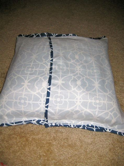 sewing pillow covers easy peasy no sew pillow quot envelope quot style covers