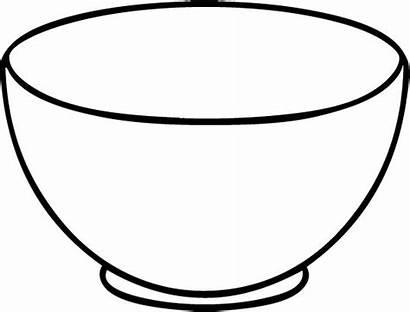 Bowl Cereal Drawing Template Disegni Utensili Cucina