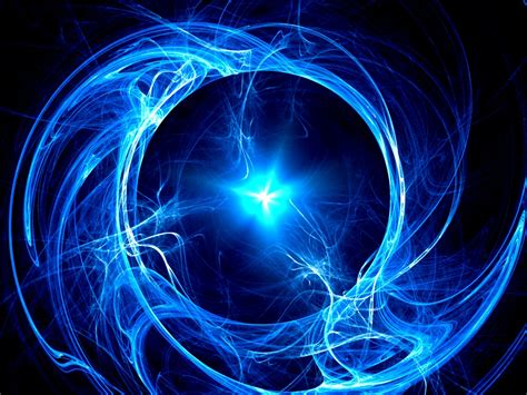 Blue Light Energy by The Magnetic Flux And Accelerating Change The Shift Of