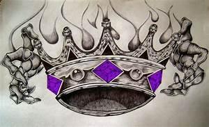 Image Gallery king crown drawings tattoo