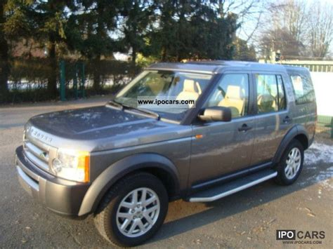 land rover discovery 2007 2007 land rover discovery 3 tdv6 s car photo and specs