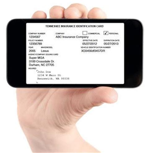 Boat Us Insurance Card by Show Proof Of Insurance On Cell Phone In Washington State