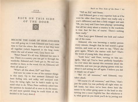 The The Witch And The Wardrobe Text by Edited Text The The Witch And The Wardrobe