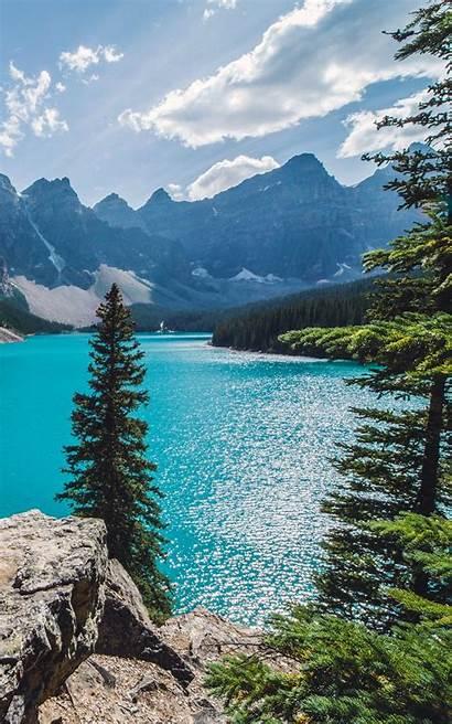 Kindle Fire Wallpapers Lake Sunny Moraine