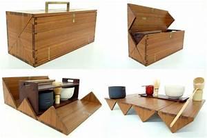 Portable Tea Box For Japanese Tea Ceremony By StudioGorm