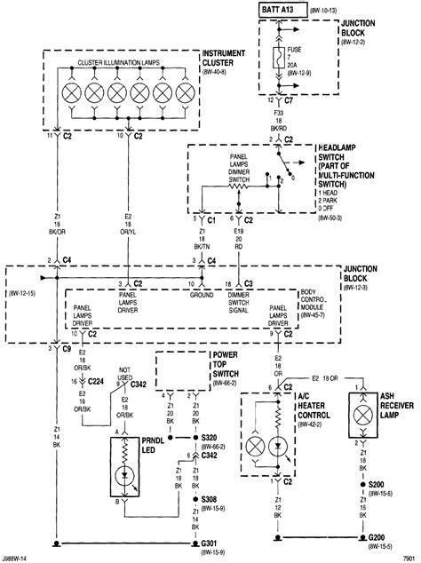 2001 pt cruiser wiring diagram efcaviation pdf 706 2007