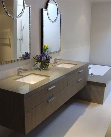 ideas for bathroom vanities and cabinets 27 floating sink cabinets and bathroom vanity ideas