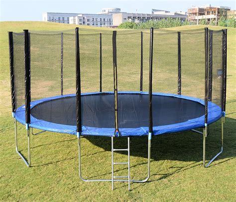 Giantex Trampoline | 15ft Round - ProTrampolines.com