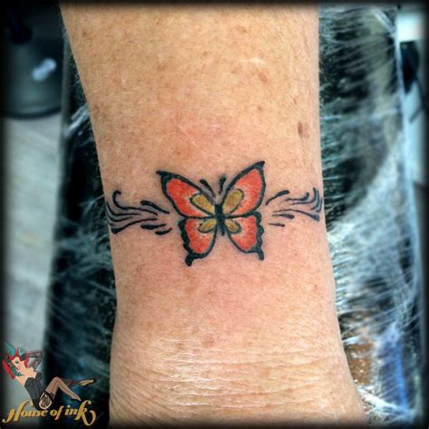 wonderful wrist butterfly tattoo ideas   girl