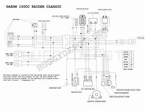 Wiring Diagram For 150cc Scooter