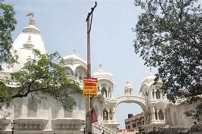 Temple Vrindavan Iskcon Mathura India Delhi Near