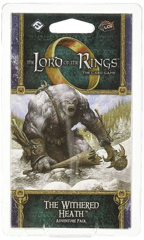Lord Of The Rings The Withered Heath Adventure Pack Lcg
