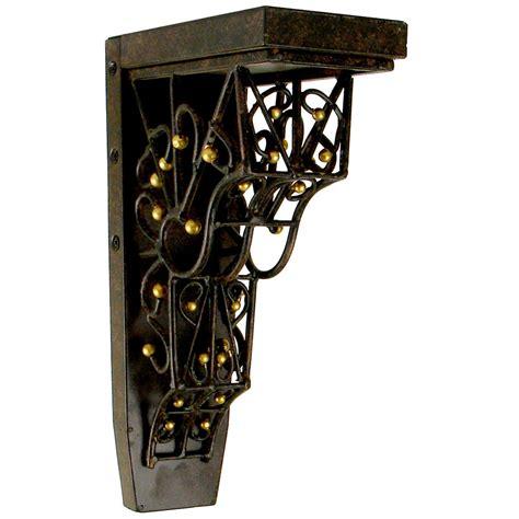 Steel Corbel by Jka Home Jcor5 4 Inch W X 7 3 4 Inch D X 13 Inch H Barcelona