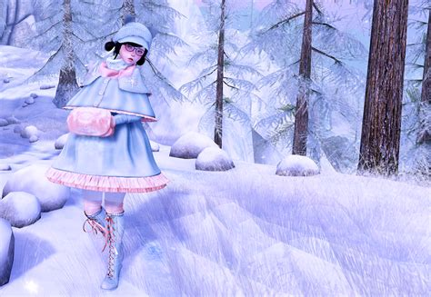 Second Life Adventures: Walking in a Winter Wonderland