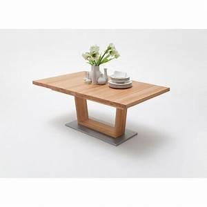 Table Extensible Bois Massif : table repas bois massif 140 220 cm extensible cbc meubles ~ Teatrodelosmanantiales.com Idées de Décoration