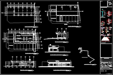 mini store dwg plan  autocad designs cad