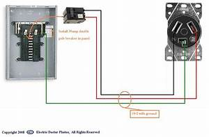 220 4 Prong Plug Wiring Diagram - Collection