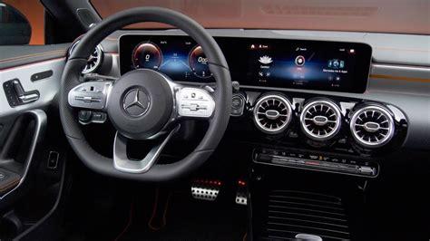 Brushed aluminum with longitudinal grain. 2020 Mercedes Benz Cla 250 Interior - Cars Interiors 2020