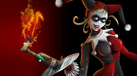 Molotov Cocktail Joker Girl Арт Desktop Wallpaper Hd For