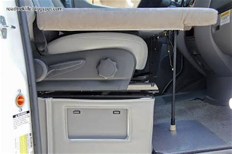 create  folding rv bed   front seats   rv