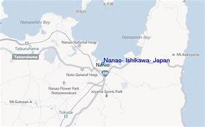Nanao  Ishikawa  Japan Tide Station Location Guide