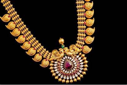 Necklace Mango Latest Mala Gold Traditional Jewellery
