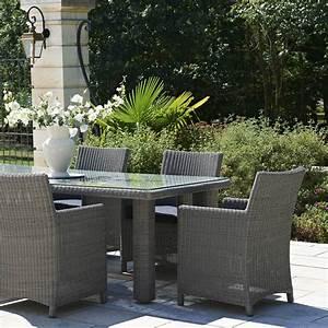Salon De Jardin En Rotin Leroy Merlin : salon de jardin haussman r sine tress e gris chin 1 table ~ Premium-room.com Idées de Décoration