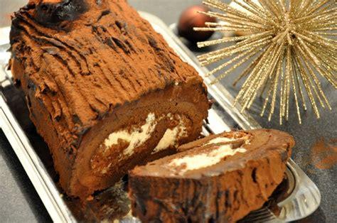 hervé cuisine brioche bûche de noël marrons chocolat praliné hervecuisine com
