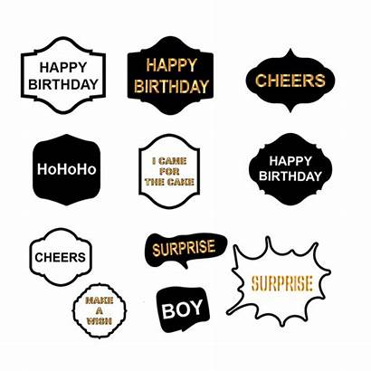 Booth Signs Funny Diy Props Kits Larger