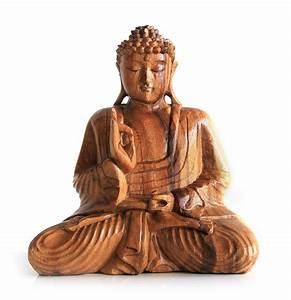 Buddha Figuren Deko : deko figur buddha figur amoghasiddhi sitzend statue aus holz h he 20 cm gro holzfigur ~ Indierocktalk.com Haus und Dekorationen