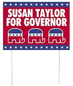 amazoncom personalized republican political party yard
