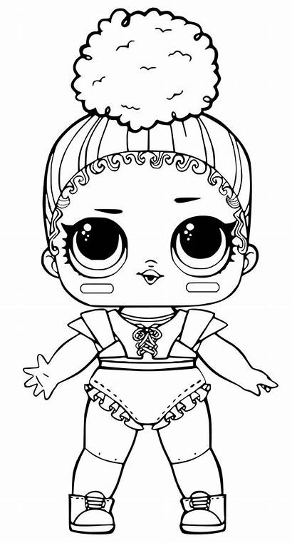 Lol Coloring Fancy Doll Pages Dolls Queen