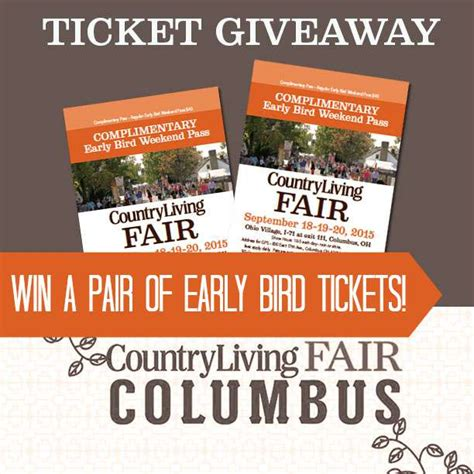 country living win country living fair columbus ohio ticket giveaway two purple couches
