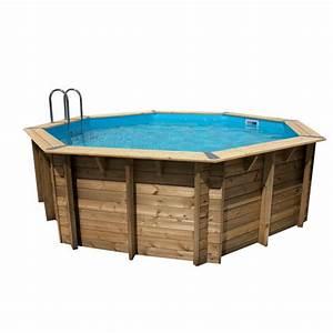 Piscine Bois Ubbink : piscine bois octogonale oc a 510 cm cm ubbink ~ Mglfilm.com Idées de Décoration