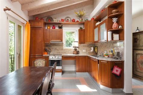 cocina rustica  muebles de cerezo fotos   te