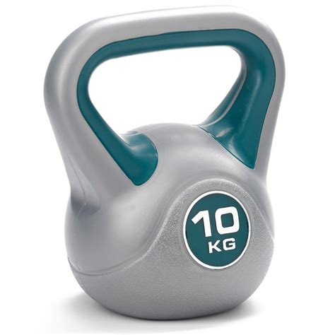 kettlebell 10kg vinyl york kg kettlebells dkn kettle bell sweatband fitness weight market shopods depuis enregistree