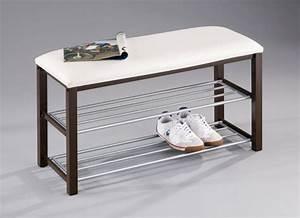 Meuble Chaussure Avec Assise : le rangement chaussures efficace en 19 exemples ~ Teatrodelosmanantiales.com Idées de Décoration