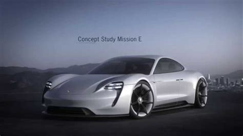 porsche electric mission e porsche mission e electric sports car get green light gas 2