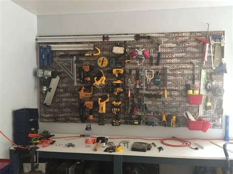 install pegboard    tough   hold