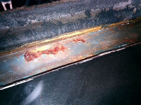 rust damage body