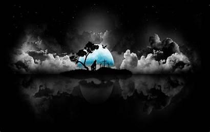 Dark Night 1080p Pc Nature Space Wallpapers