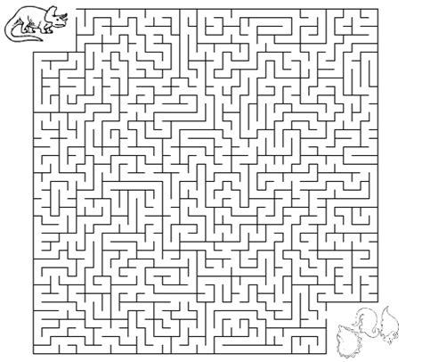 Dinosaur Maze Worksheet  Dinosaurs  Pinterest  Maze, Science And Worksheets
