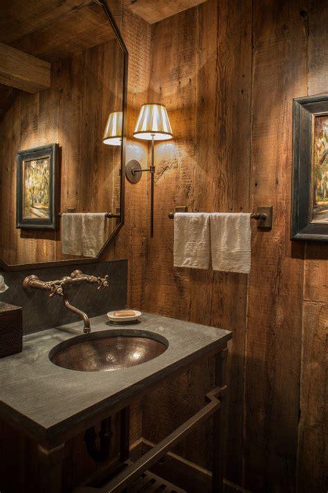 half bathroom ideas 16 homely rustic bathroom ideas to warm you up this winter Rustic