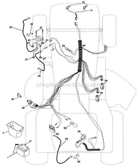 Poulan Mower Wiring Diagram by Starter Solenoid Wiring Diagram For Lawn Mower Wiring