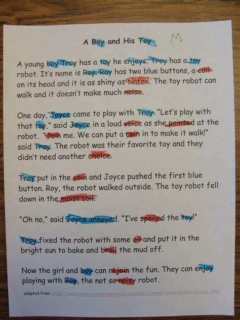 robot roy story  oy phonics words phonics teaching