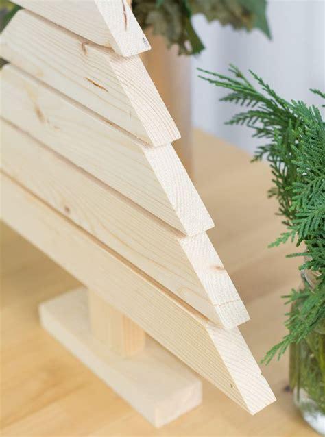 diy rustic  modern wood christmas tree