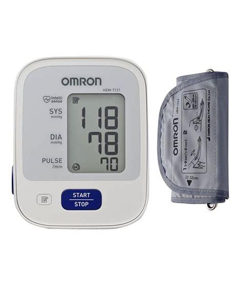 Omron HEM-7121 Blood Pressure Monitor: Buy Omron HEM-7121