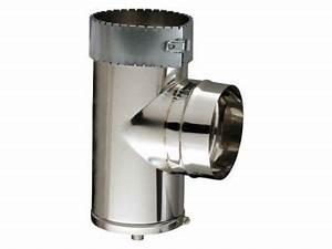 Tubage Flexible Inox 150 Brico Depot : t de purge pour tubage flexible 150 mm poujoulat castorama ~ Dailycaller-alerts.com Idées de Décoration