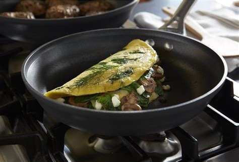 nonstick calphalon pan omelette contemporary cookware