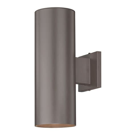 outdoor up and down light fixtures up down bronze cylinder outdoor wall light 5052 pcb